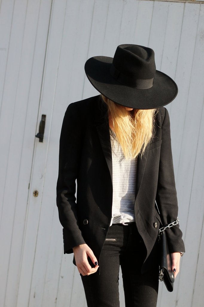 Camille over the Rainbow New Icons Fedora Saint Laurent