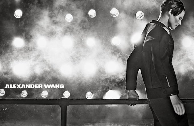 Malgosia Bela by Steven Meisel for Alexander Wang